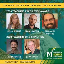 2020 University Teaching Excellence Award Winner