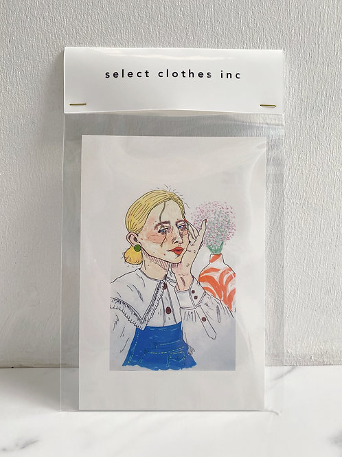 NO.1 Christina (Post card)