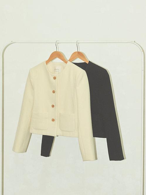 Slow wool jacket