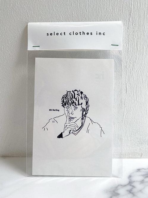 NO.16 Oh! Darling (Post card)