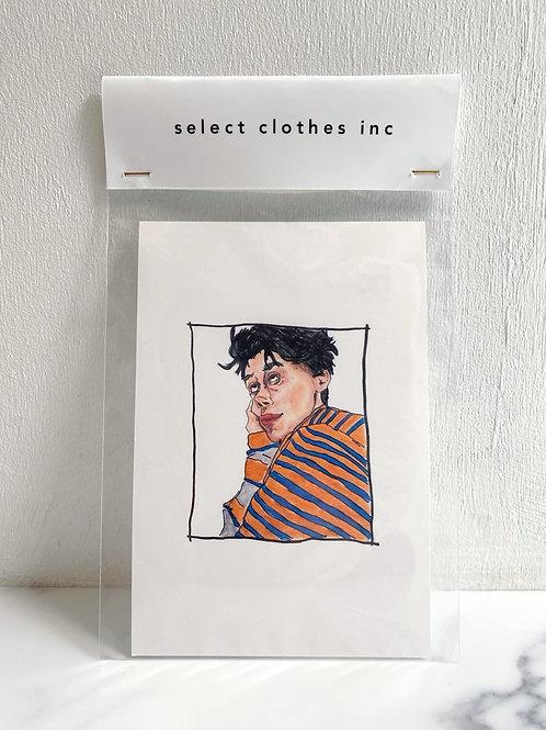 NO.15 Page boy (Post card)