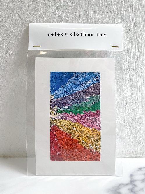 NO.17 hitohudegaki (Post card)