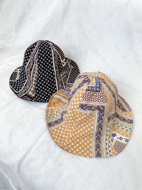 Vintage flower hat
