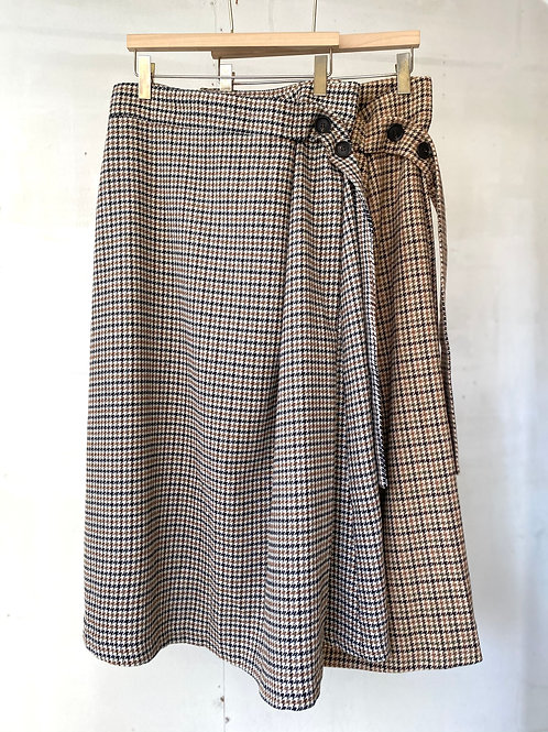 Eve wool skirt