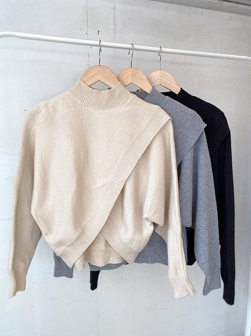 Cross knit