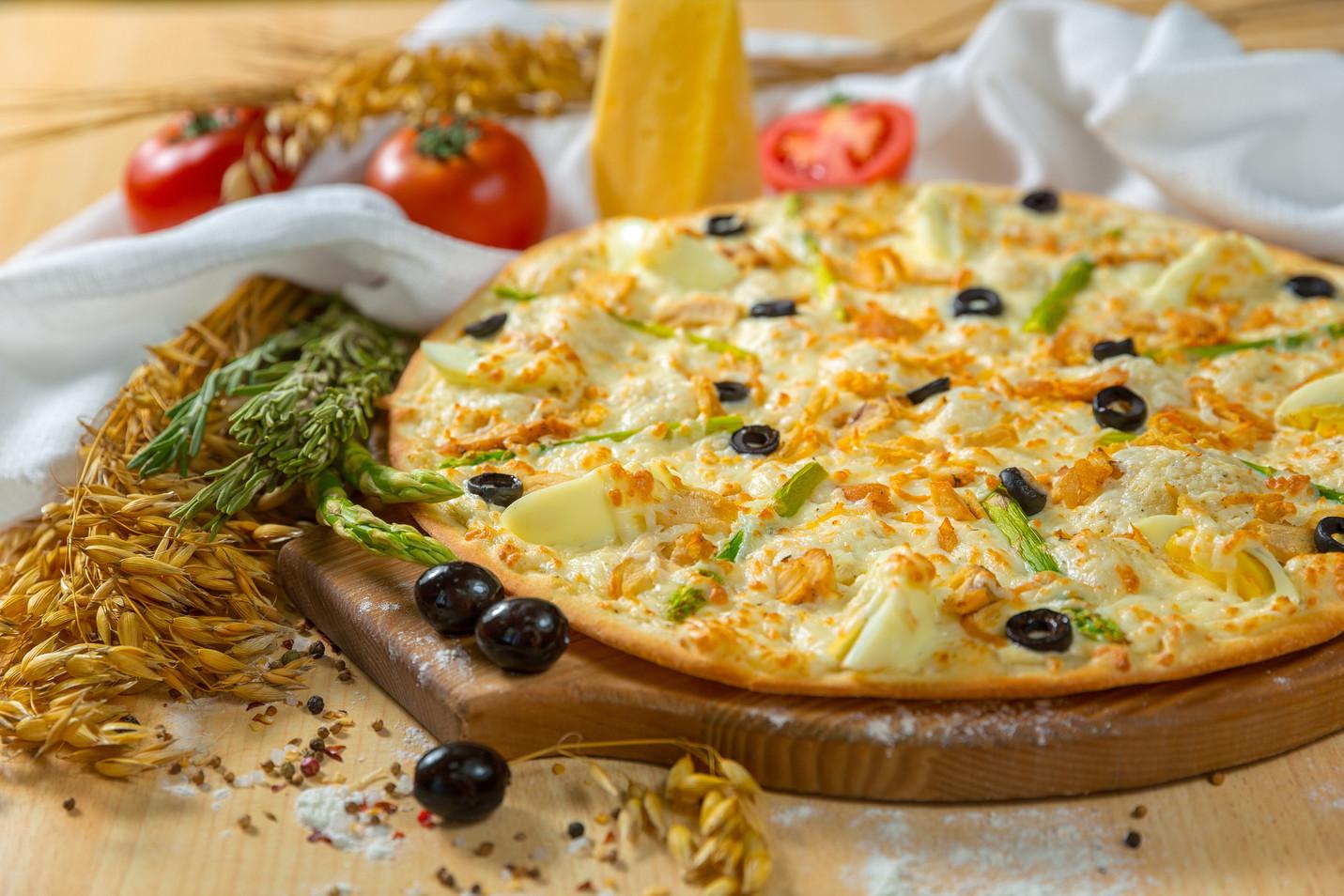 Фотосъмка пиццы
