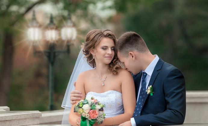 Фото свадьбы на набережной Хабаровска
