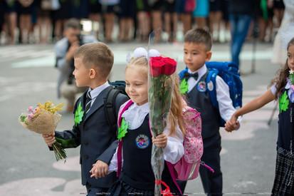 Школьная линейка, Хабаровск