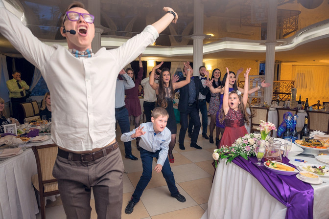 Фотосъемка свадебного банкета