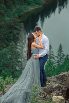 Фотосъемка свадьбы в романтических местах