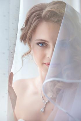 Свадебный портрет невесты  в Хабаровске