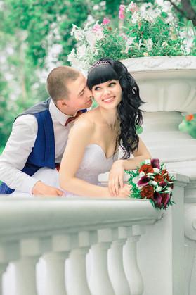 Фотосъемка свадьбы летом