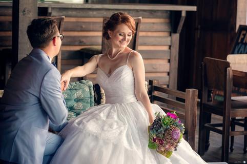 Стильная свадебная фотосъемка