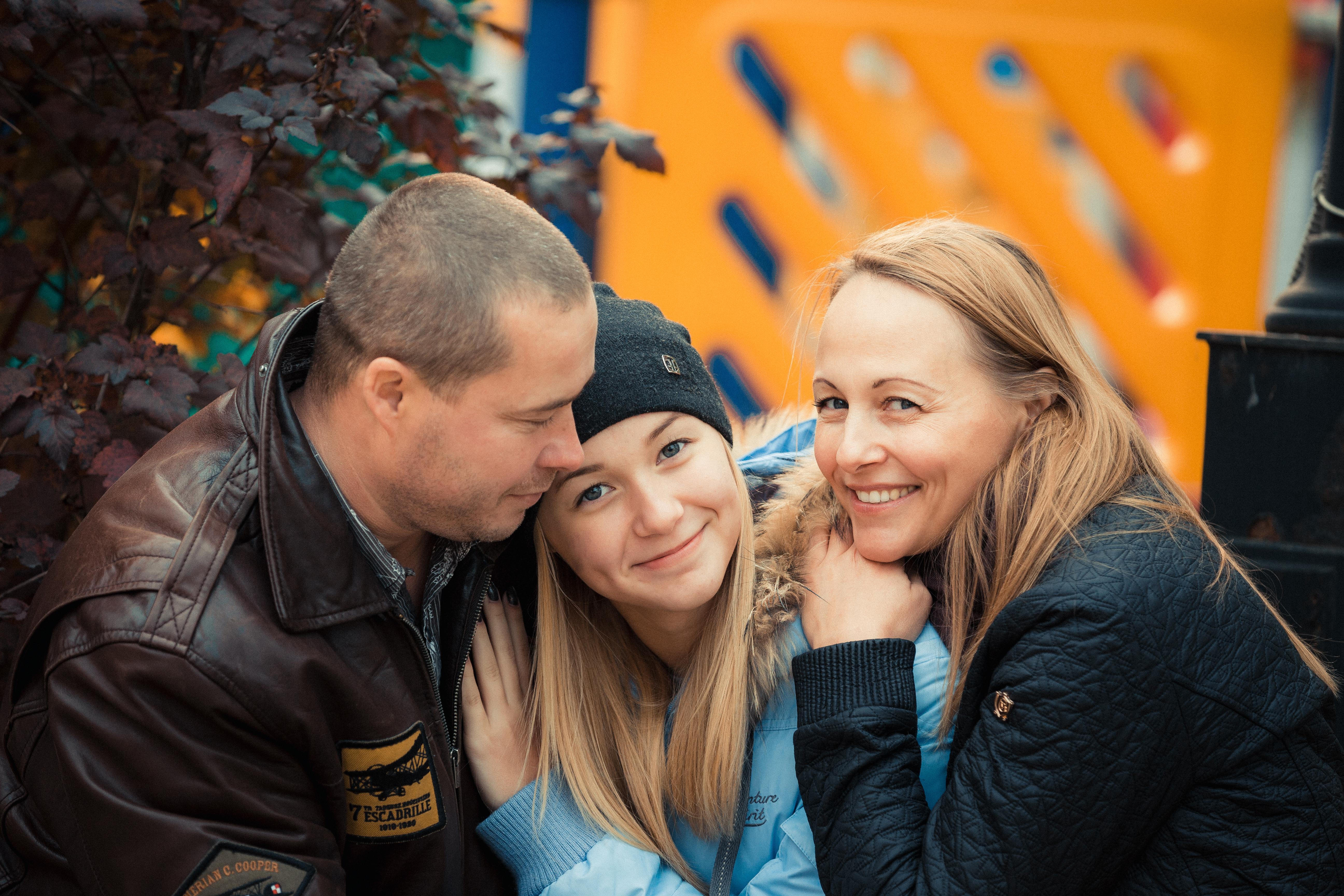 Семейные фотосессии на природе
