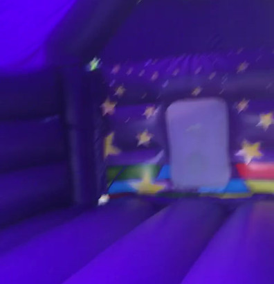 Kids disco castle