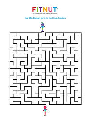 Fitnut Fitness Nutrition for children kids The fitnutprogram obese childhood obesity UK maze
