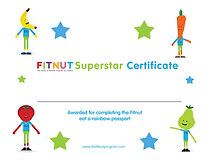 Fitnut Fitness Nutrition for children kids The fitnutprogram obese childhood obesity UK Certificate