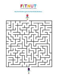 Fitnut Fitness Nutrition for children kids The fitnutprogram obese childhood obesity UK maze