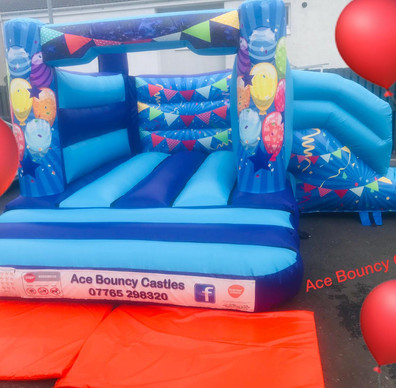 Party bounce slide