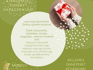 Decemberi akcióink, karácsonyi ajánlataink