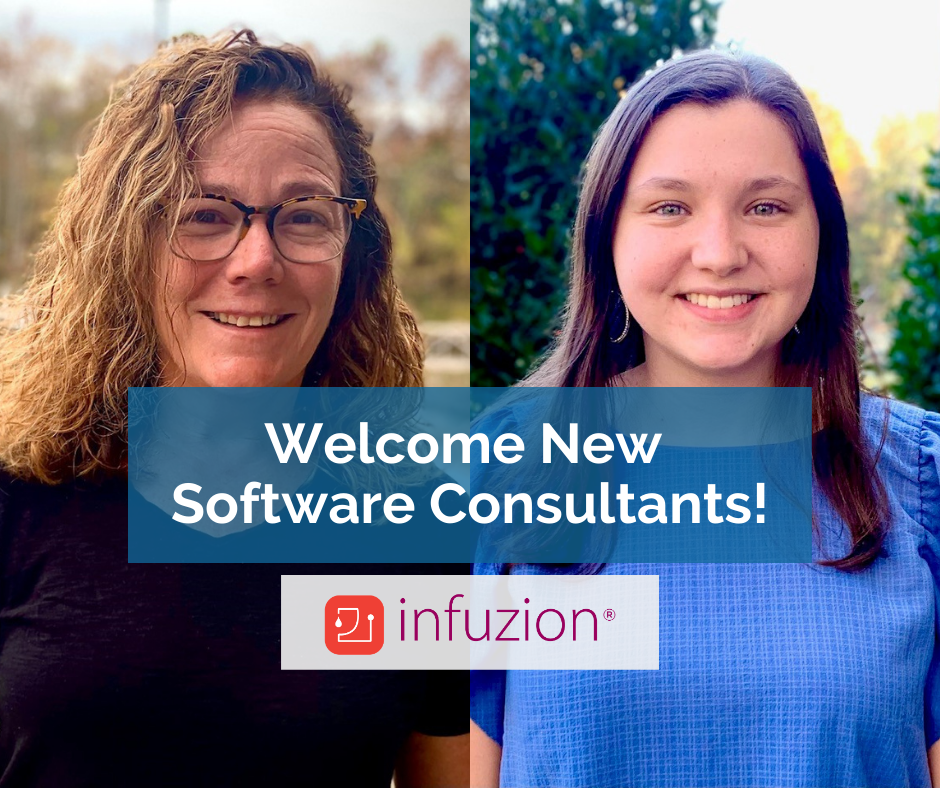Meet University of Tennessee Knoxville Graduates Desirée and Rhyan -- Infuzion Solution's New Microsoft Dynamics GP ERP Software Support Consultants for  Infuzion® software.
