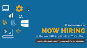 Now Hiring - Software ERP Application Consultant