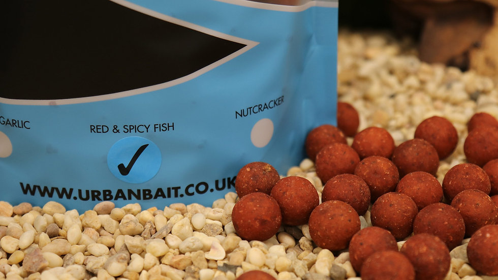 URBAN BAIT RED SPICY FISH BOILIES