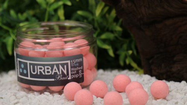 URBAN BAIT Red & Spicy Fish Washed Out Pink Pop Ups