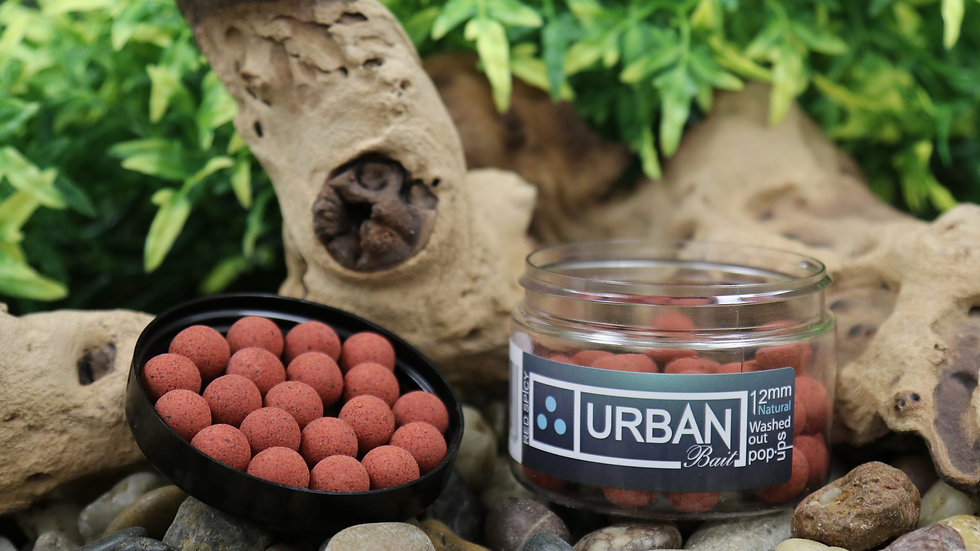 URBAN BAIT RED SPICY FISH WASHED OUT NATURAL POP UP