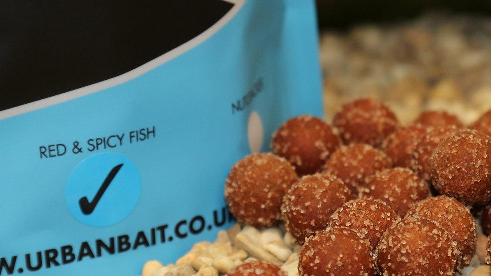 URBAN BAIT PINK HIMALAYAN SALT RED SPICY FISH BOILIES