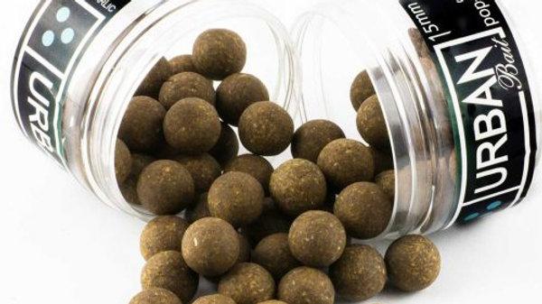 MESHED TUNA & GARLIC CORK BALL POPUPS – 15MM