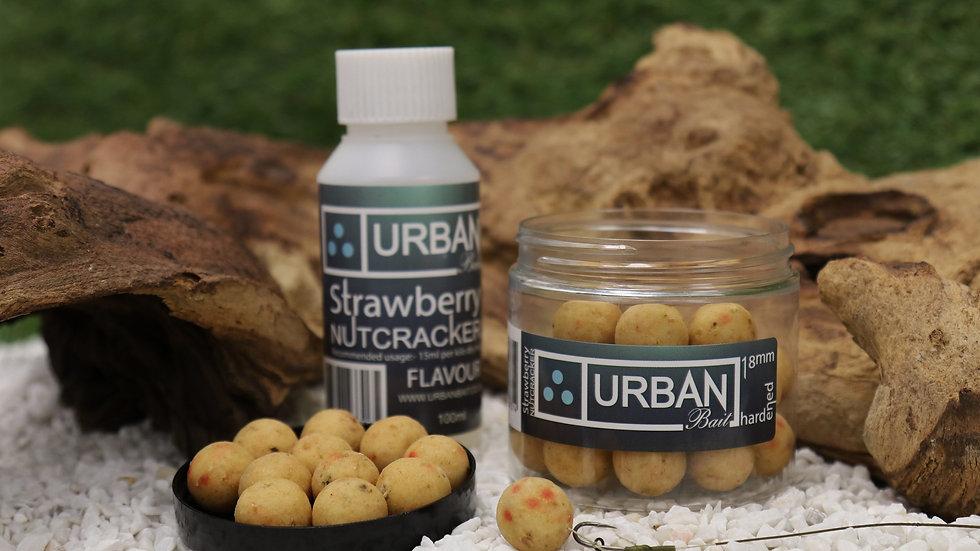 URBAN BAIT STRAWBERRY NUTCRACKER HARDENED HOOKBAITS