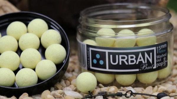 URBAN BAITS Tuna & Garlic Washed Out Yellow Pop Ups