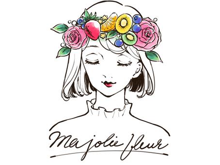 【制作実績】Ma jolie fleur様 ロゴデザイン・アクセサリー台紙制作