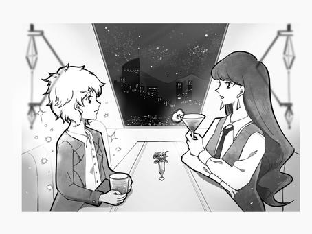 """【制作実例】ライトノベル""""Ellery Moonbeam""""の挿絵イラスト"""