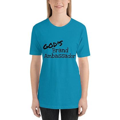 GOD'S BRAND AMBASSADOR Short-Sleeve Unisex T-Shirt