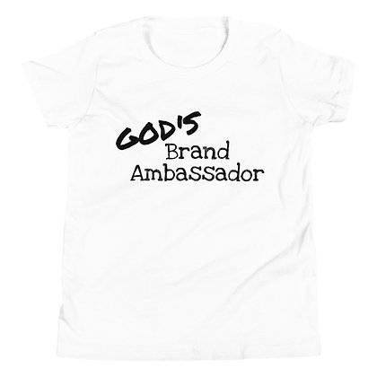 GOD'S BRAND AMBASSADOR Youth Short Sleeve T-Shirt