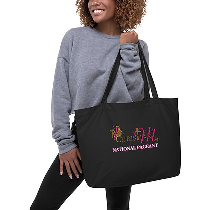 Christian Miss Large organic tote bag