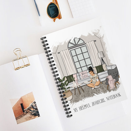"My Helpful ""Home""girl Notebook (spiral)"