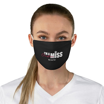 I'm A Christian Miss Face Mask (Custom Order - Email contact@christianmiss.com)