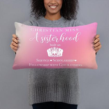 Christian Miss Sisterhood Pillow