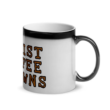 Christ Coffee Crowns Glossy Magic Mug