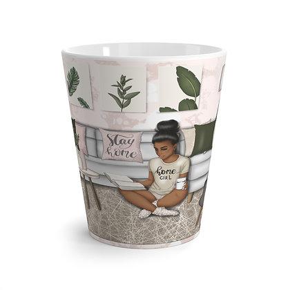 """""""Home""""girl Latte mug"""