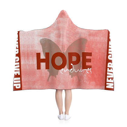 Hope Endures Hooded Blanket