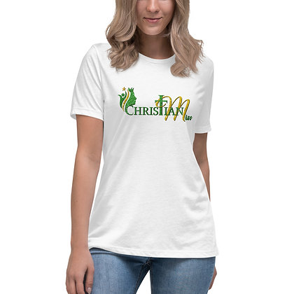 Christian Miss Green/Gold Women's Relaxed T-Shirt (Adult)
