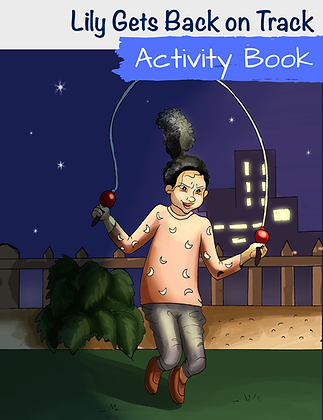 Lily Gets Back On Track Activity Book