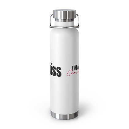 I'm A Christian Miss 22oz Vacuum Insulated Bottle