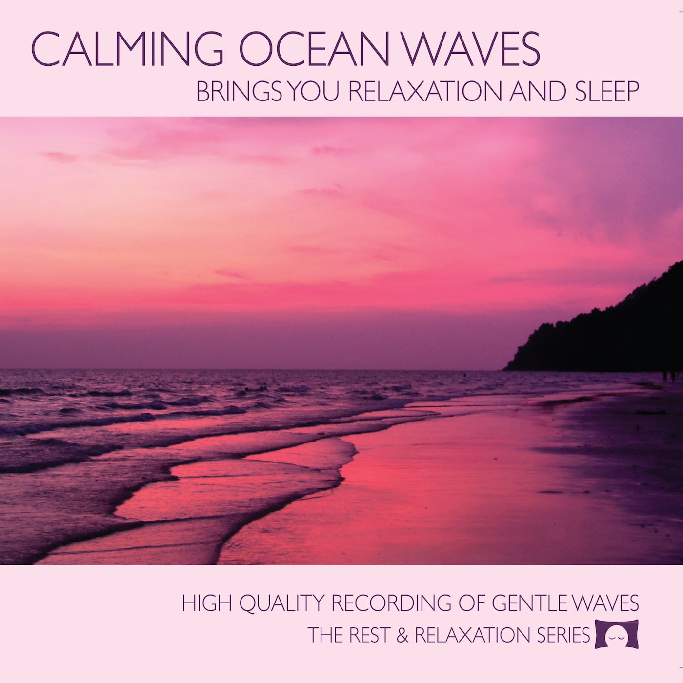 Calming Ocean Waves - Cover for CD Baby