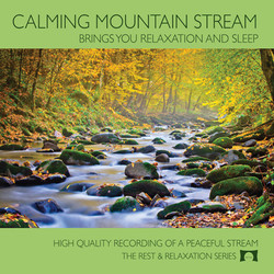Calming Mountain Stream for CD Baby 1400