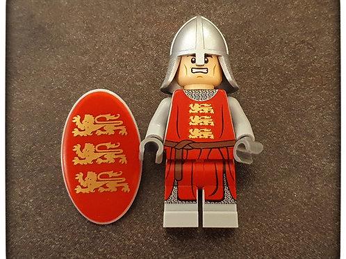 English Crusader Minifigure NEW DESIGN!